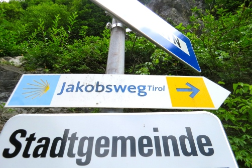 Jakobsweg - Rattenberg, Austria